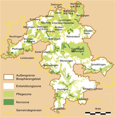 Das UNESCO-Biosphärenreservat Schwäbische Alb