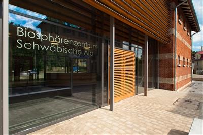 Das Hauptinformationszentrum in Münsingen
