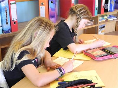 Das Methodentraining vermittelt Techniken zur Texterschließung.