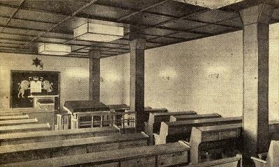 Betsaal der jüdischen Gemeinde in der Herrenstr. 14