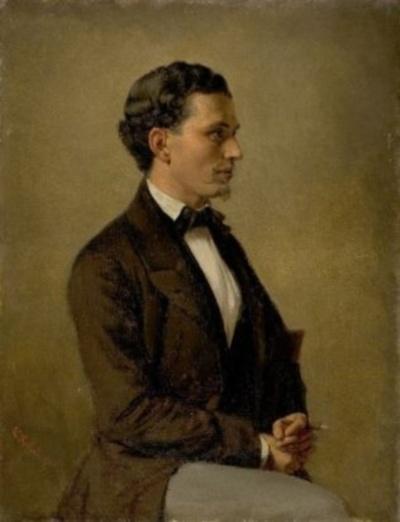 Rechtsanwalt und Minister Moritz Ellstätter (1827-1905)