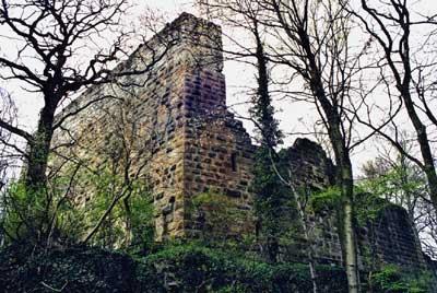 Burg Blankenhorn bei Güglingen-Eibensbach