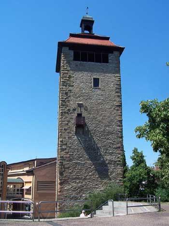 Bergfried der Burg Bruchsal