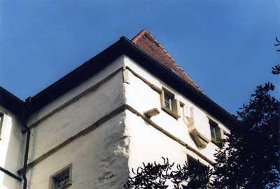 Mauerkrone des Wohnturmes