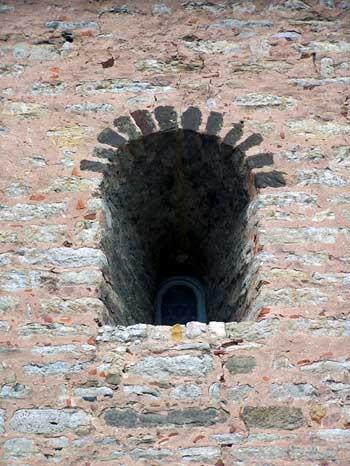 Lauffen: Fenster des Wohnturms
