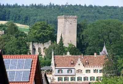 Die stauferzeitliche Burg Obergrombach bei Bruchsal