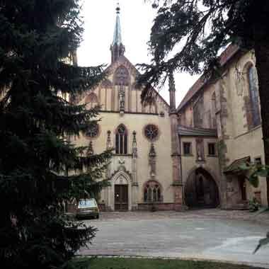 Das Kloster Lichtenthal.