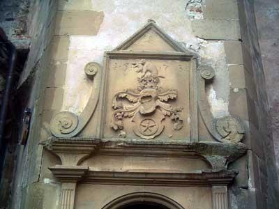 Berlichingisches Wappen am Treppenturm