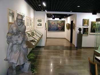 Blick in das Weibertreumuseum