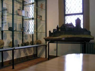 Ein kleines Burgmuseum in der
