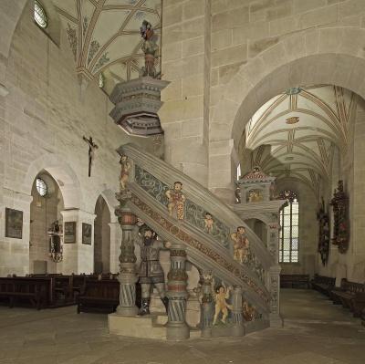 Die Kanzel der Bebenhausener Klosterkirche
