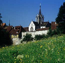 Bebenhausen, Klosterkirche mit Dachreiter