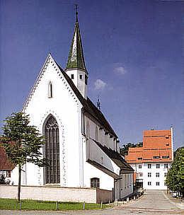 Klosterkirche Heiligkreuztal von Westen