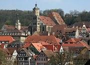 Schwäbisch Hall Freie Reichsstadt seit 1280 Dachlandschaft