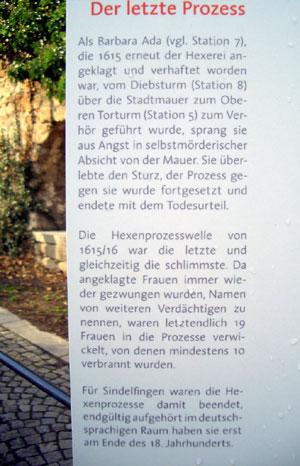 Schautafel Hexensprung