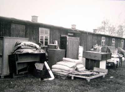 Flüchtlingslager in der Opfinger Straße in Freiburg