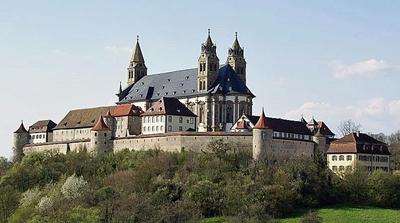 Die Großcomburg in Schwäbisch Hall