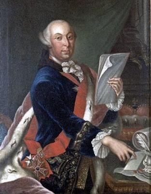 Herzog Carl Eugen von Württemberg