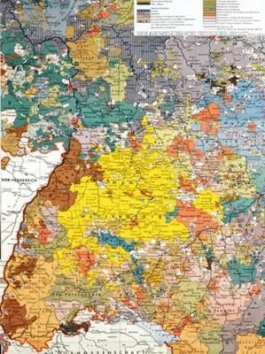 Südwestdeutschland um 1789