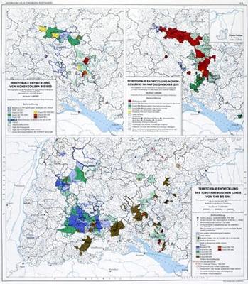 Territoriale Entwicklung von Hohenzollern