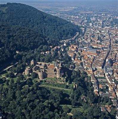 Schloss und Altstadt von Osten