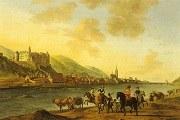 Das Heidelberger Schloss von Gerrit Berckheyde 1670