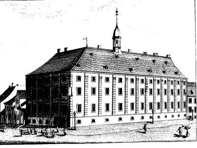 Das Zucht-, Arbeits- und Tollhaus in Mannheim (gegr. 1748)
