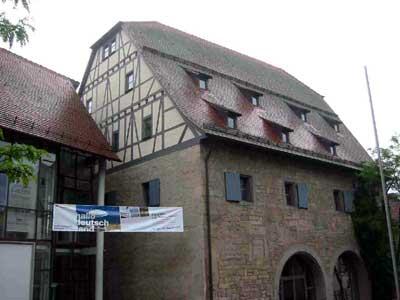 Das Deutsche Bauernkriegsmuseum in der Böblinger Zehntscheuer
