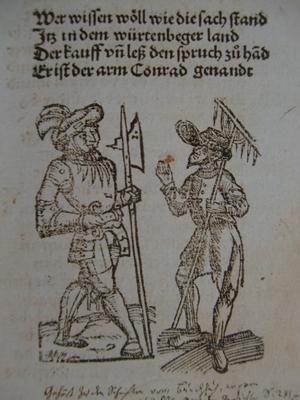 Flugschrift zum Armen Konrad, Mai 1514