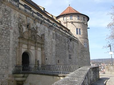 Eingang zum Schloss Hohentübingen