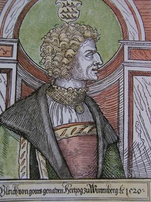 Herzog Ulrich im Jahre 1520