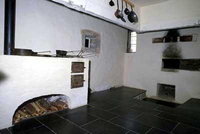 Küche in einem Bauernhaus in Beuren