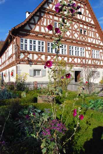 Garten des Gasthauses