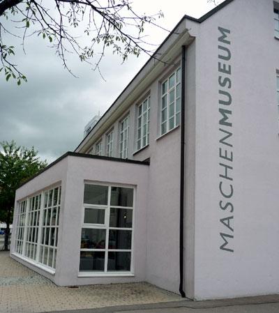 Außenansicht des Maschenmuseums in Albstadt-Tailfingen