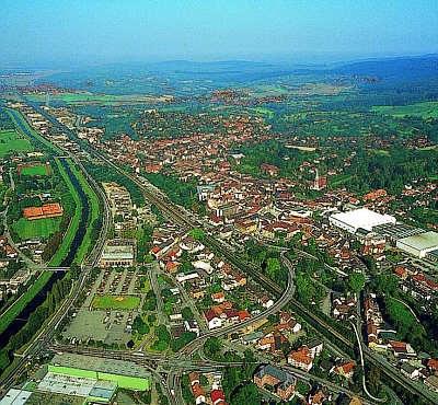 Luftbild von Emmendingen