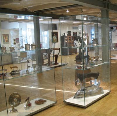 Bügeleisen der Grossag im HF-Museum