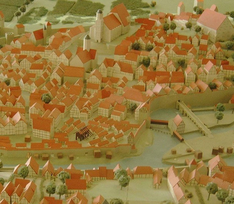 Stadtmodell im HF-Museum