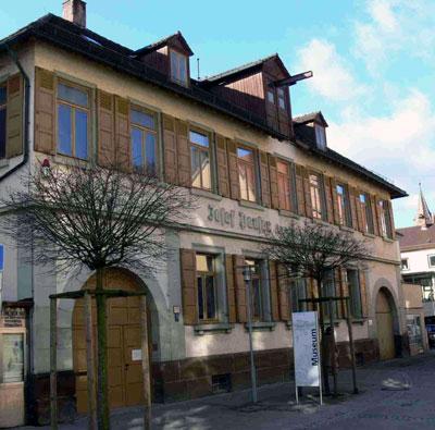 Die Ott-Pauser sche Fabrik in Schwäbisch Gmünd