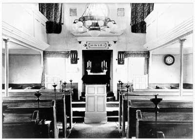 Synagoge -Innenraum 1930