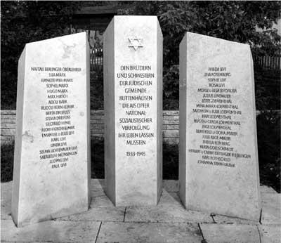 Denkmal für die Opfer des Holocaust 1965