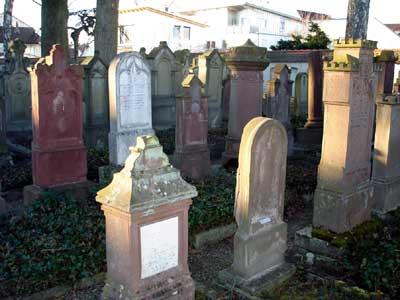 Jüdischer Friedhof in Laupheim