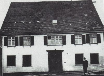 Rabbinatsgebäude in Laupheim (19. Jh.)