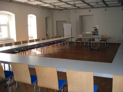 Workshop-Raum im Museum