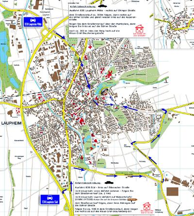 Stadtplan Laupheim