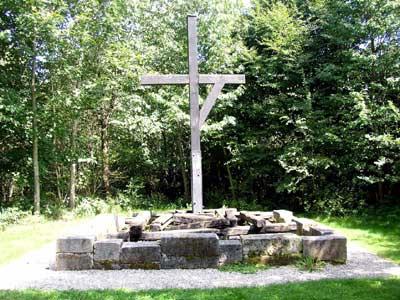 Ort der Hinrichtungen im Galgenwald nordwestlich von Ellwangen