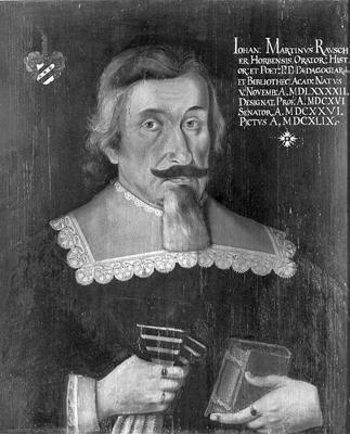 Portrait des Johann Martin Rauscher
