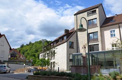 Hauptgebäude des Horber Spitals