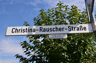 In memoriam Christina Rauscher.