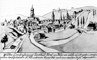 Horber Stadtansicht