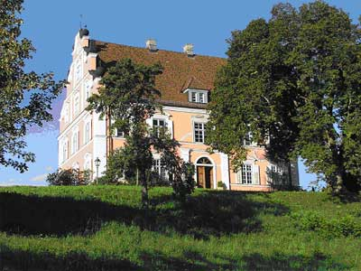 Schloss Freudental, Südseite
